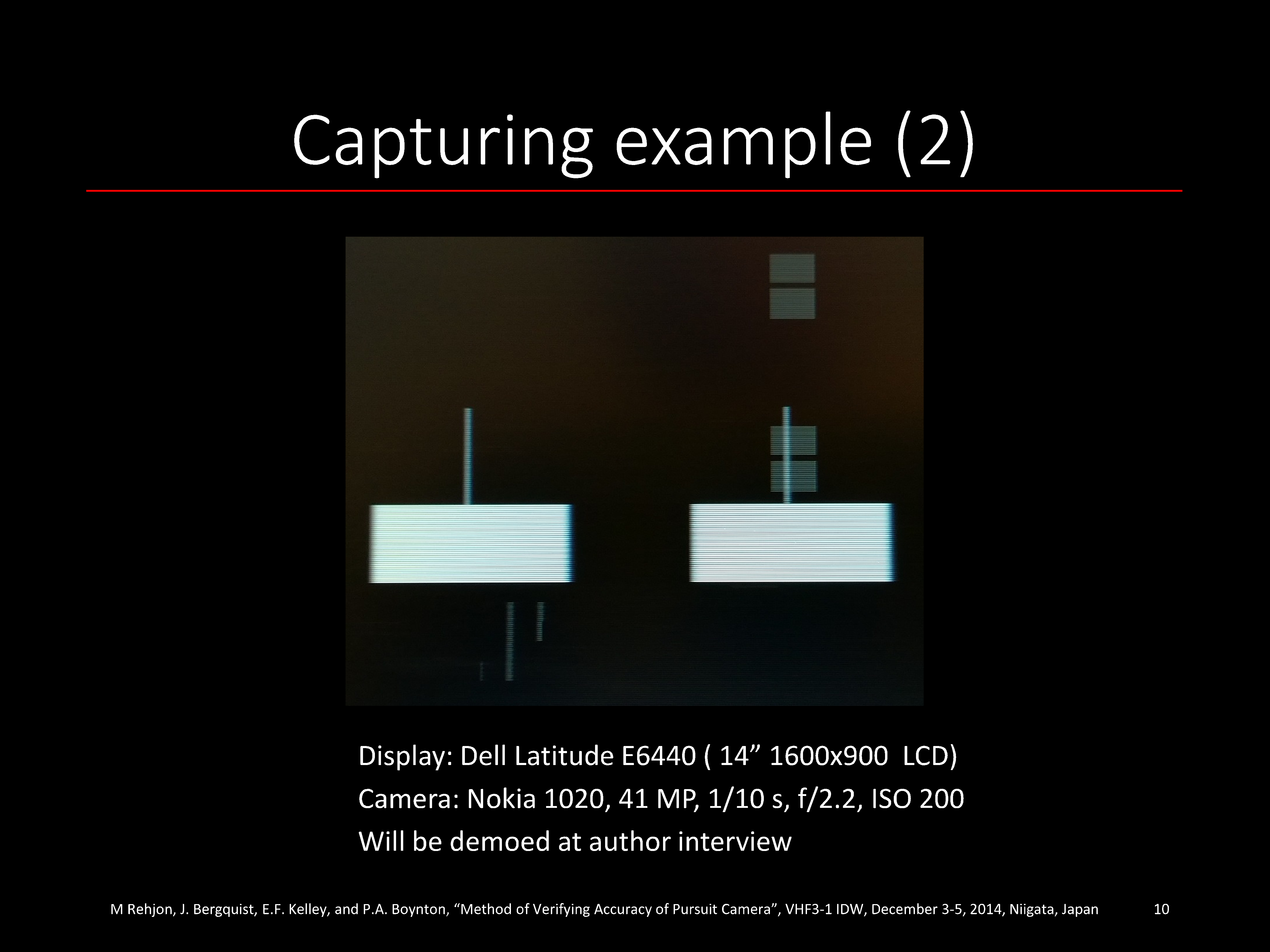Pursuit Camera Paper (Peer Reviewed) | Blur Busters