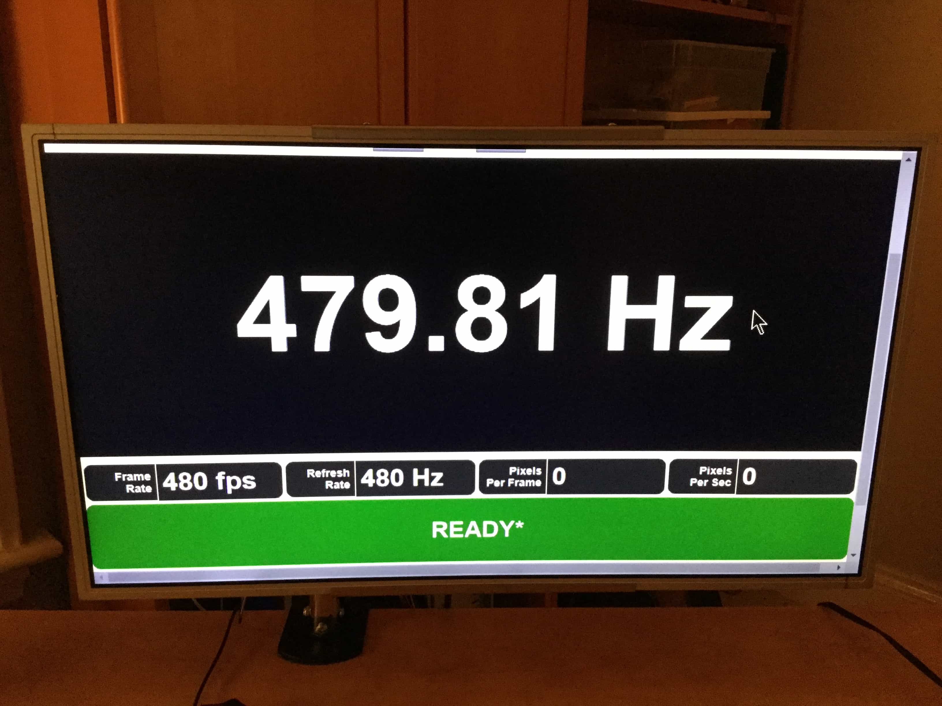 480 hz monitor prototype now at blur busters blur busters