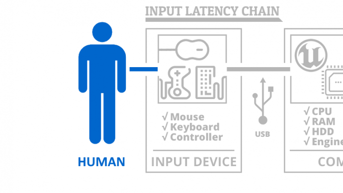 Input Latency Chain: Human Element