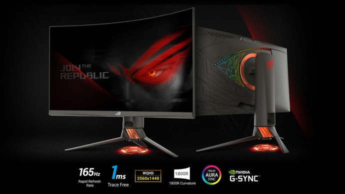 ASUS ROG Swift PG27VQ Monitor