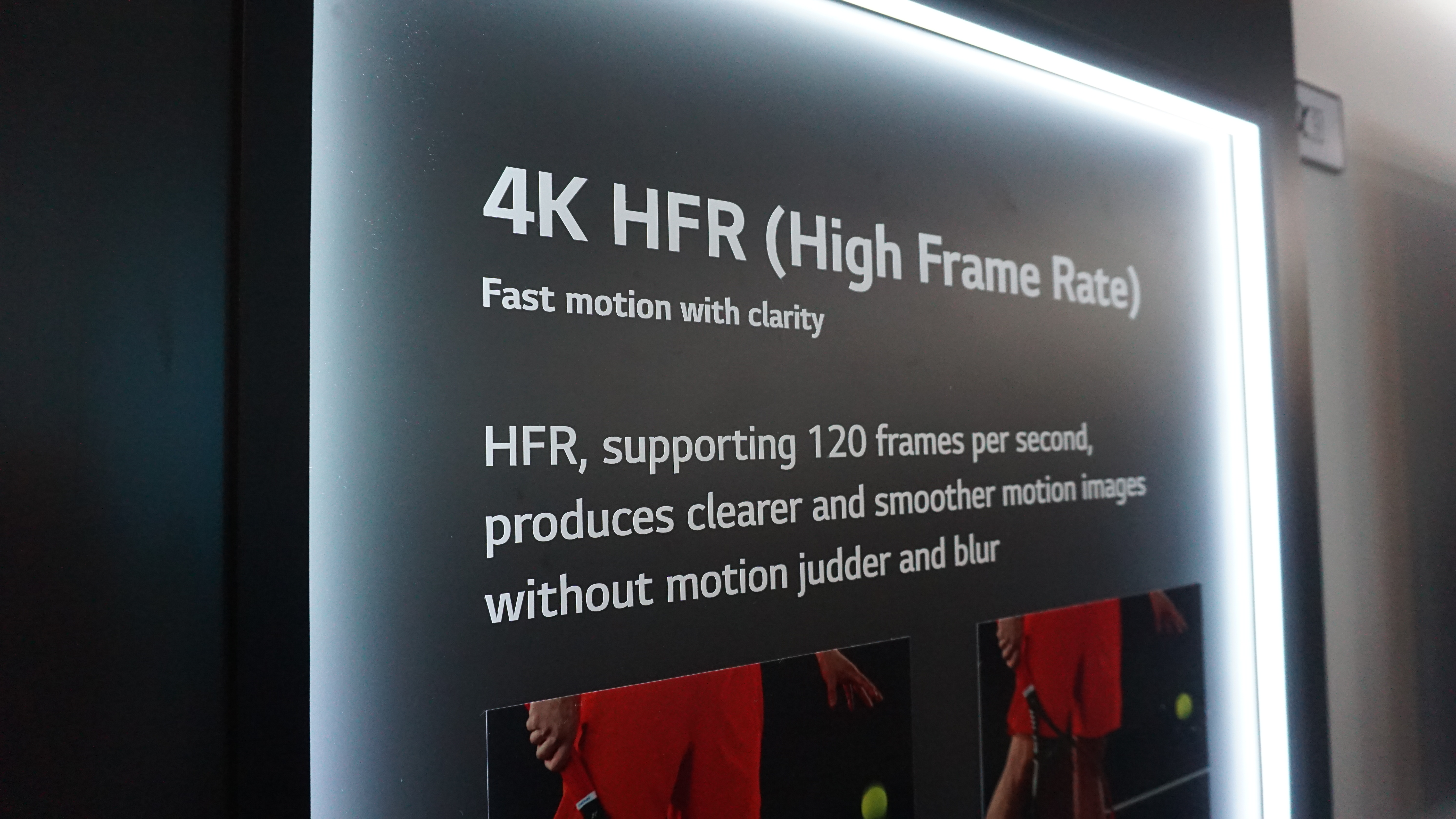 First Impressions of 120fps HFR on 4K LG OLED | Blur Busters