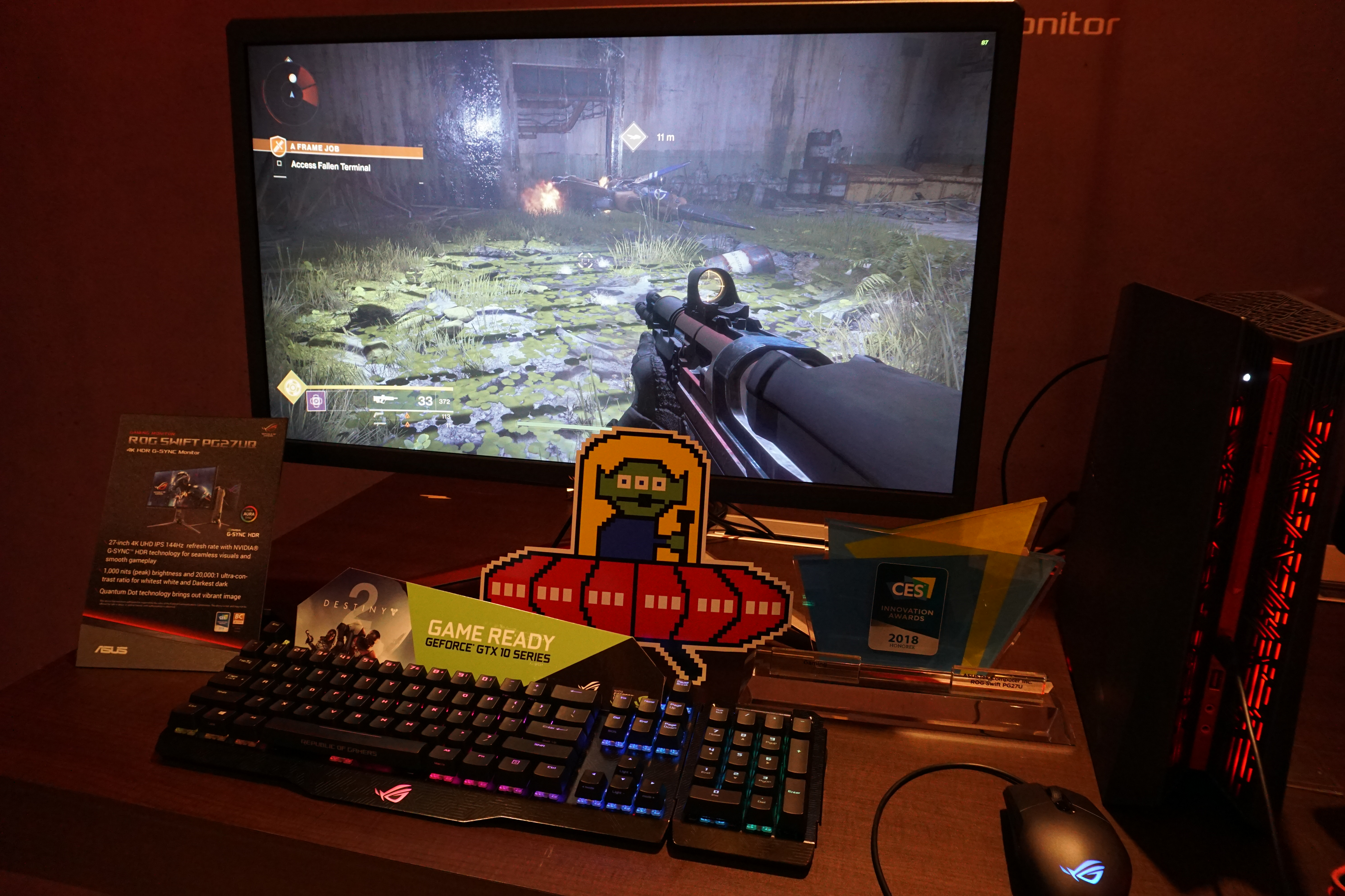 On This Impressive Desktop Monitor, You Certainly Almost Donu0027t Need FSAA,  Which Youu0027ll Likely Need To Turn Off To Keep Frame Rates Very High At 4K  Without ...