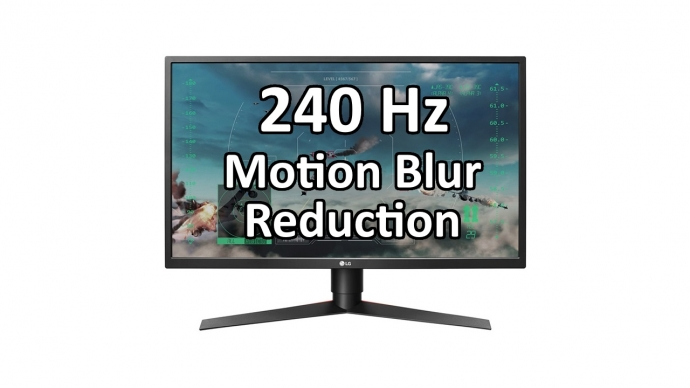 New LG 240 Hz Gaming Monitor Has Motion Blur Reduction at 240 Hz