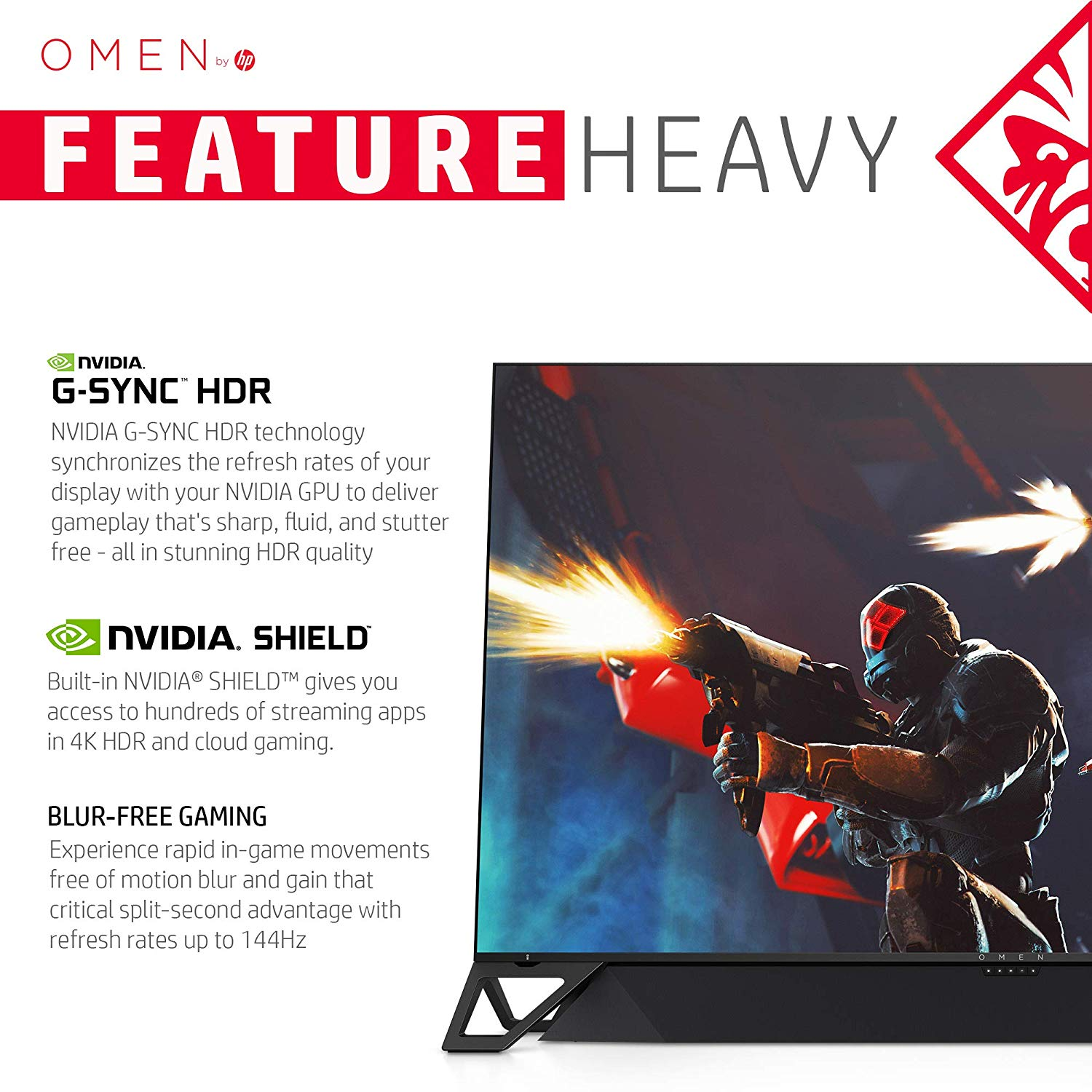 HP OMEN X Emperium 65″ BFGD Gaming Monitor Now Available For