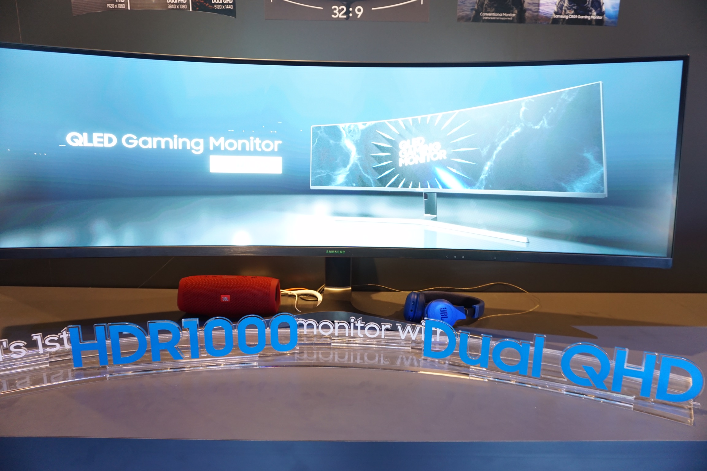 Samsung CRG9 Showcased, New 5K 120Hz Ultrawide Gaming