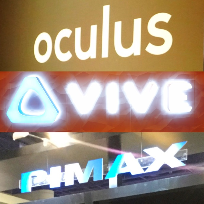 VR Photojournal: Oculus Rift, HTC Vive Pro, PIMAX 8K at CES