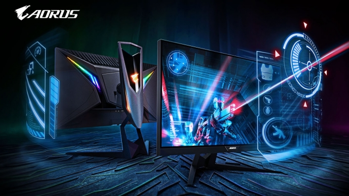 AORUS 240 Hz 0 5ms KD25F Gaming Monitor Released by Gigabyte