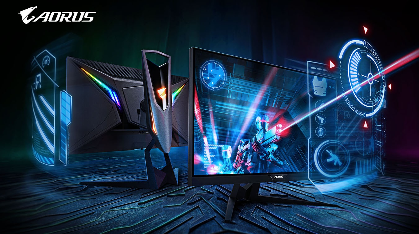 Image result for AORUS KD25F Gaming Monitor